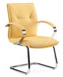 Cadeira Mesh High 1NIVEL BK