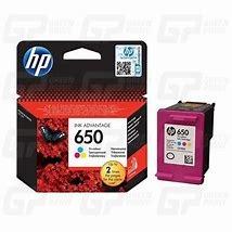 Tinteiro HP 650 CZ102AE Tri-Colour